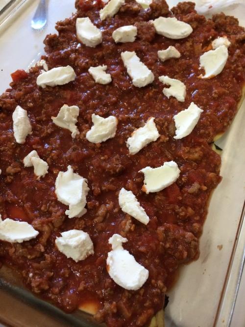 lasagna full layer