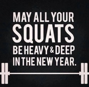 New Year Squat