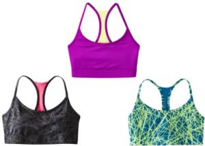 target sports bras