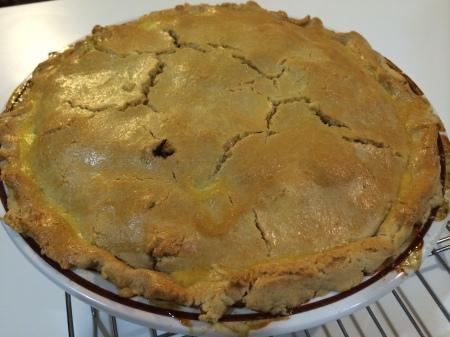 Finished Chicken Pot Pie